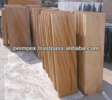 Sandstone Teakwood Stock for Tiles, Steps