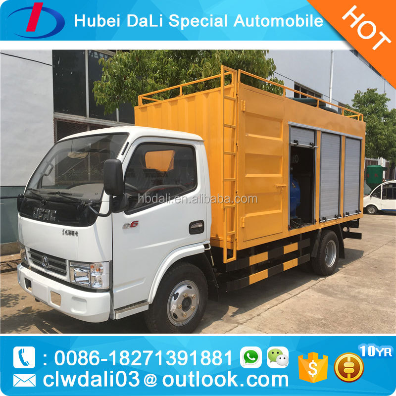 dongfeng 4X2 7000kg electric fire truck/double axle fire truck