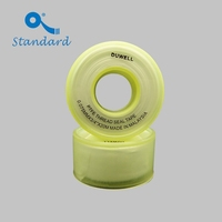 Plumber's ptfe sealing tape yellow color