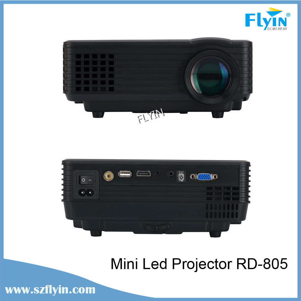 Newest 2015 Full HD Proyector Beamer LED Mini Video LCD 1080P 3D Home Theater mini Projector