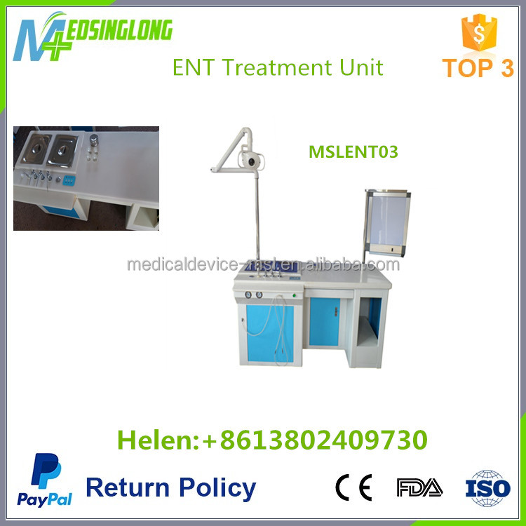 Deluxe single operation ent table treatment /Medical ENT treatment unit MSLENT03
