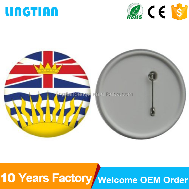 LINGTIAN Crafts Custom Badges Button Pins /Custom Coat Of Arms Pin