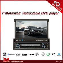 7 inch motorized retractable DVD player RDS DAB bluetooth RCA USD SD AUX MP3 touch screen hd car dvd for honda accord