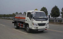 3 m3 Fuel tanker truck /FORLAND 4x2 Fuel tank truck hydraulic oil tanker /mobile gas station