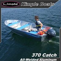 Aluminum boat-370 Catch Fishing/Simple/Useful/All-Welded/Disassemble