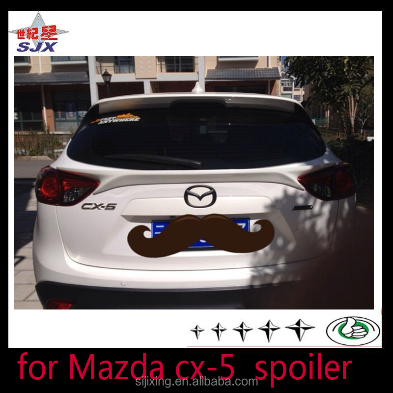 spoiler for mazda cx-5 the factory direct supply abs plastic auto rear wing