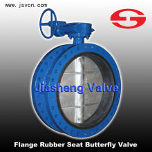 2014 New 150LB Flange Rubber Lined Butterfly Valve