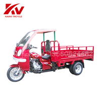 2017 Chinese new high quality 150cc/175cc/200cc/250cc/ water engine truck cargo 3/five wheel motorcycle adult tricycle with CCC