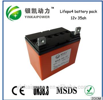 UPS/Power tools / 12v 35ah, 100Ah lifepo4 battery pack Electric Vehicle Batteries