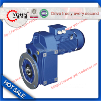 New type YDHN brand FAF parallel shaft Helical speed reducer with flange
