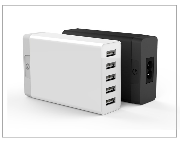 Fantastic Novelty public cell phone Charging Station 5v 8.4a usb Wall charger 5 Port