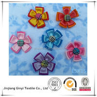 Nice fabric handmade flowers for clothes