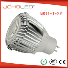 Mini led spot light mr11 1x2W 12v led bulb