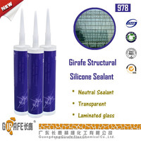 Girafe 978 Clear Neutral Silicone Aquarium Sealant