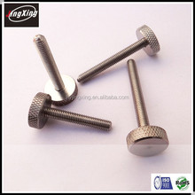 good quality m3 M4 M5 M6 M8 M10 stainless steel knurled thumb screw/bolt