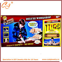 Deluxe Workshop DIY Kit Building Block Dream Tool