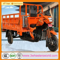 China 300cc Engine Water Cooled Three Wheel Cargo Motor Tricycle for sale