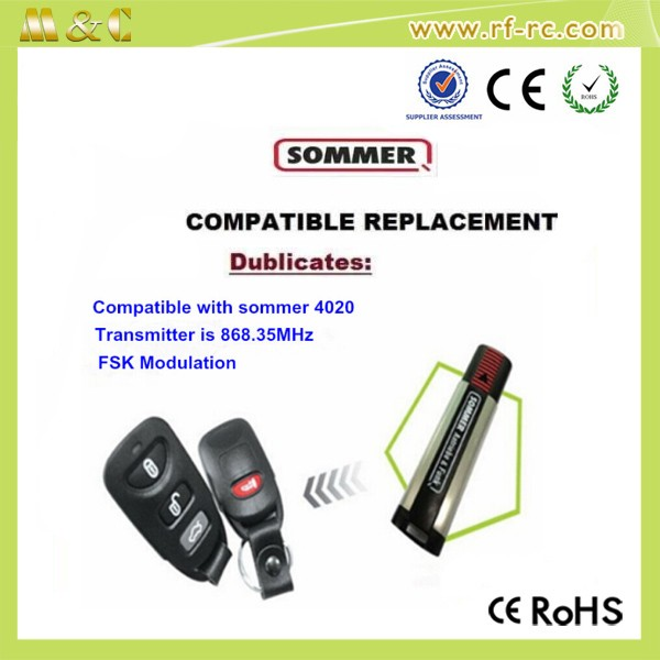hot selling On Sale Sommer Compatible Remote Control FM 868 Remote Switch