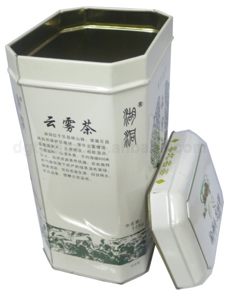 Alibaba High Quaility IrregularCoffice/tea Tin Cans