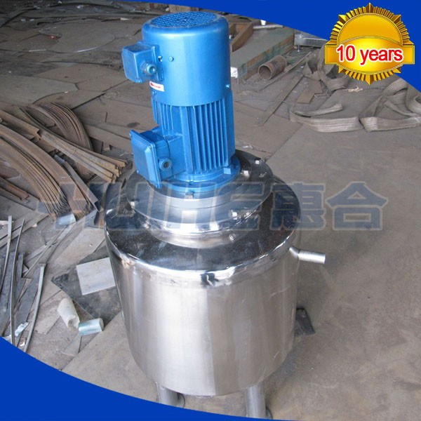 High shear mixer tank food grade different heads on sale