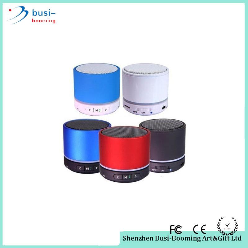 2016 Distributors Wanted Mini Portable S11 Bluetooth Speaker With Led Light Wireless Music Player with TF Port