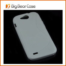 Guangzhou factory oft TPU back case for ZTE Blade Q Maxi Orange Reyo case cover