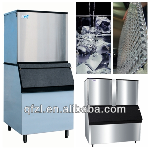 KF small commercial block ice maker for fast food supply, pub, beverage, water coolingr