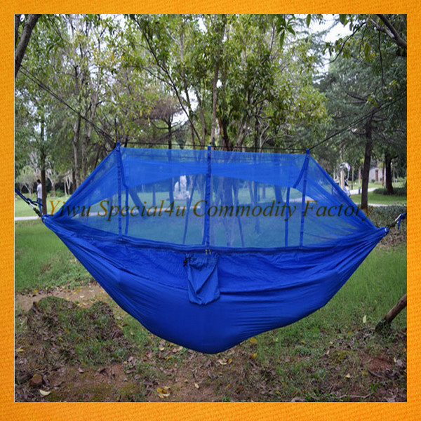 SS-170 Amazon Wholesale Outdoor Parachute Nylon Hammock Mosquito Net Hammock
