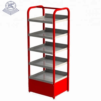 commercial use heavy duty durable standing cosmetic display