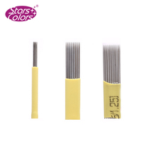 3 D eyebrow embroidery needle 12CF14CF 18CF 18U Microblading Blades Disposable tattoo needle
