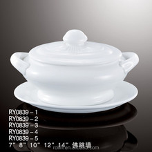 Hot sale porcelain ceramic soup tureen