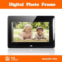 "7 inch digital photo frame 8 inch digital picture frame 10"" dpf-7001"