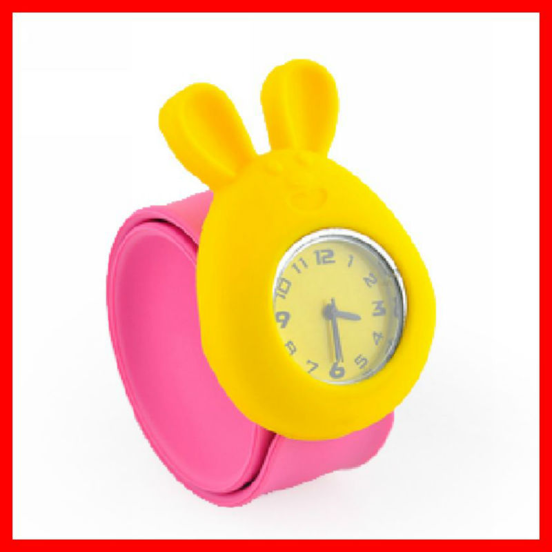 Animal shaped 3 D best price kids slap watch for girls