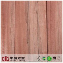 Best selling natural wood door veneer Applewood for plywood and MDF wholesale