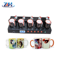 5 heating mats mug press machine,5 in 1 combo heat press machine