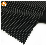 Polyester Spandex Stair Jacquard Knitted Fabric for Winter Clothes