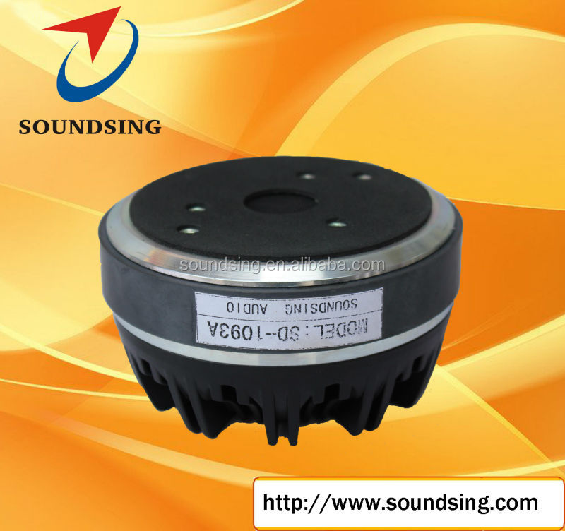 "1.75""voice coil bolt on aluminium cover audio driver (SD-1093A)"