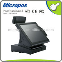 Micropos P15 touch screen POS cash register