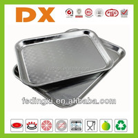 aluminum serving trays large size food tray for hotel