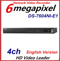 Hikvision 4CH HD Network Video Recorder Digital Video Recorder DVR Network H264 DS-7604NI-E1