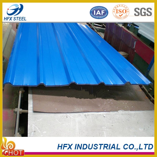 High Quality of Anti-corrosion Corrugated Metal Roofing Tile price of Iran
