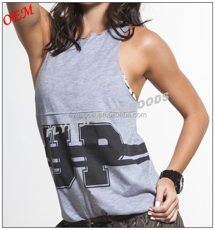 Authentic Original Design Casual Fitness Racerback Tank Top, gym clothing for women