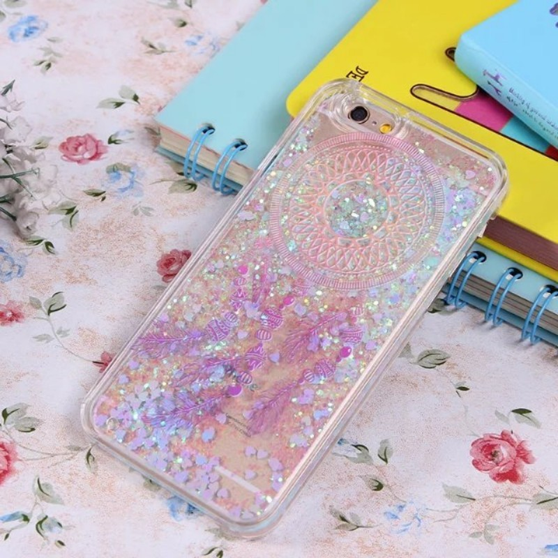 Quicksand PC Cell phone case for iPhone 7 case New Arrival liquid style for iPhone 7 shell