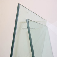 custom 4.38mm thin clear Laminated Glass with Excellent Quality