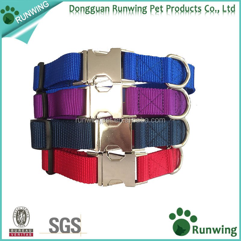 Amazon Best Selling Premium Nylon Dog Collar Metal Buckle for Various Dogs