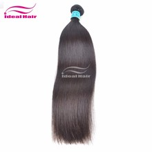 Hot! real human hair natural color with superior quality virgin brazilian and peruvian hair
