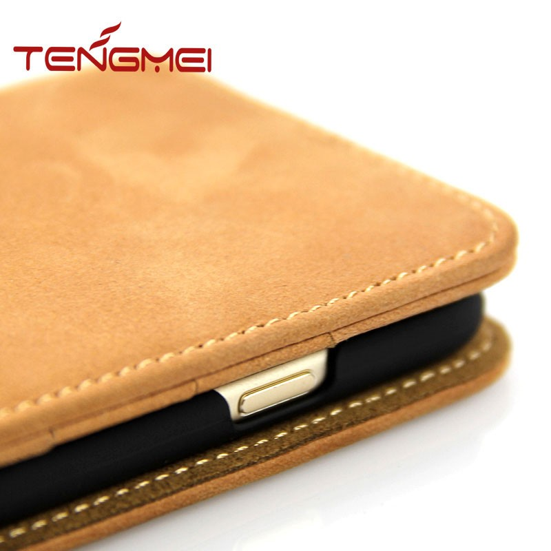 for iphone 6s high end leather case , smart phone leather case for iphone 6s