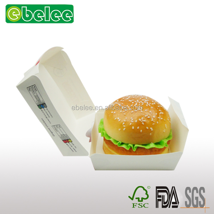 Factory Made Bento box/Hamburger packaging box/Low Price/High Quality