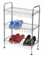 11F Knock Down Style Metal Shoe Rack Wholesale
