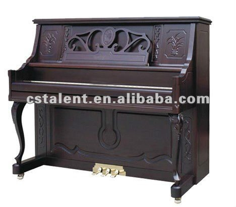 125cm Upright wooden piano with Piano Stool